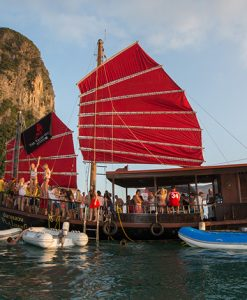 5 Islands sunset cruise tour from Krabi