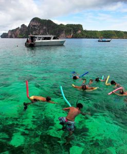 Exclusive Phi Phi island Catamaran tour