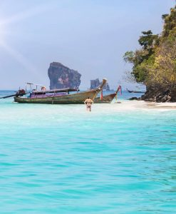 Krabi to 7 Islands sunset big boat tour
