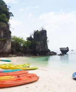 Krabi to Hong Island kayaking tour