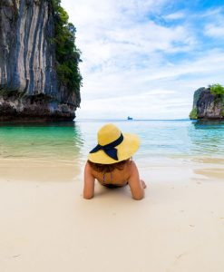 Krabi to Hong Island long tail boat tour
