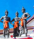 THREE-KINGS-MONUMENT-CHIANG-MAI-(2)-Chiang-Mai-cycling-temples-tour