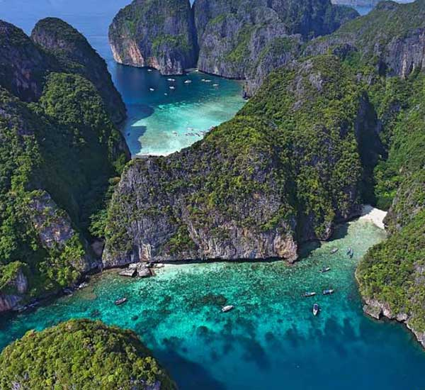 Krabi to Phi Phi Islands Premium tour