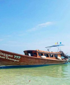 Private longtail boat tour to Rang Yai and Naka island from Phuket