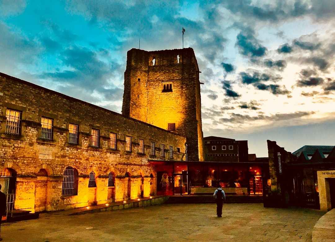 Oxford Castle - The Saxon Town Walls and the legendary prison